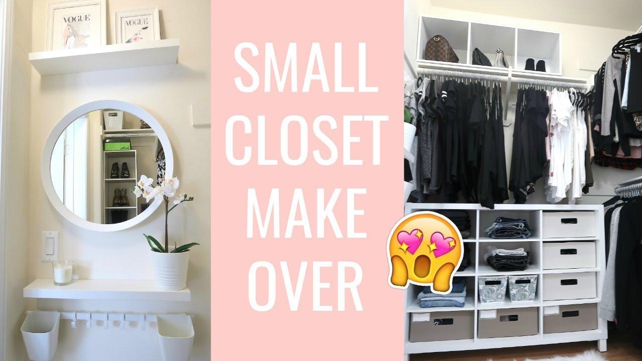 Exceptionnel ☆ Small Closet Makeover ☆
