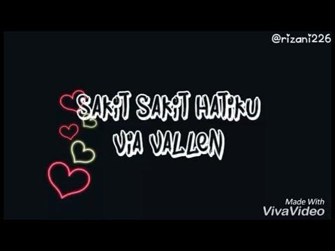 Saki sakit hatiku Via Vallen Video Lirik (bikin nangis)