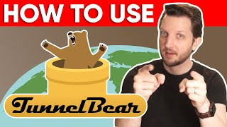 HOW TO USE TUNNELBEAR VPN - An In-Depth Guide on How to Use TunnelBear on ALL Devices 📱💻 screenshot 1