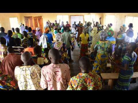 Gbentchal, Togo, West Africa 2014