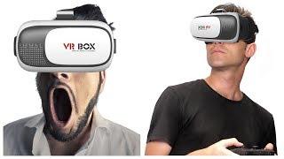 VR BOX 2.0 очки виртуальной реальности для смартфона обзор / 3D очки с пультом ВР БОКС 2.0