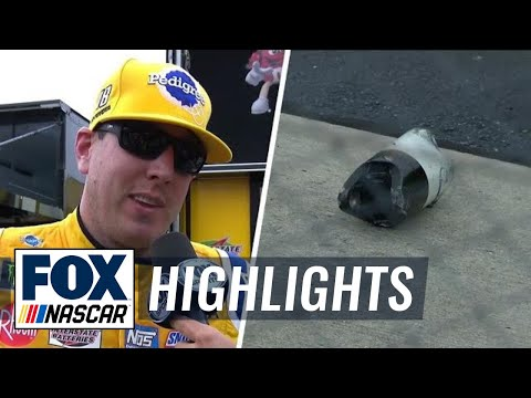 Kyle Busch goes to the garage after losing driveshaft  2018 DOVER  FOX NASCAR