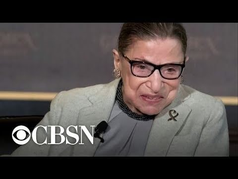 Ruth Bader Ginsburgs broken ribs should get better, Dr. LaPook says