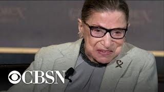 "Ruth Bader Ginsburg's broken ribs ""should get better,"" Dr. LaPook says"
