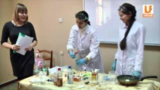 Студенты Нефтяного университета провели открытый урок для семиклассников