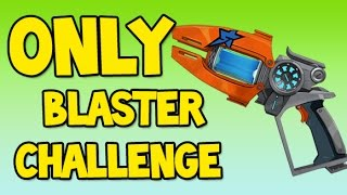 SLUGTERRA ONLY BLASTER CHALLENGE ! Impossible? - Slugterra / Bajoterra Slug it out