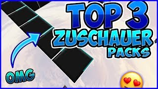 [😍OMG] TOP 3 ZUSCHAUER PACKS #1 | Bestes CW Pack ever?!🔥 ☆ Minecraft Bedwars ☆