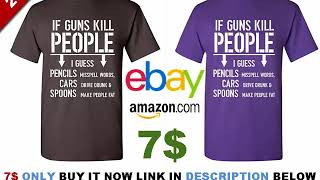If Guns Kill People T Shirt