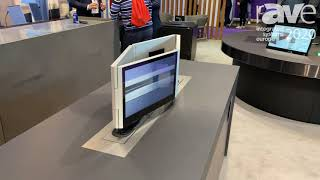 ISE 2020: Arthur Holm Intros Dynamic 4 Diamond-Shaped Monitors for Huddle Rooms