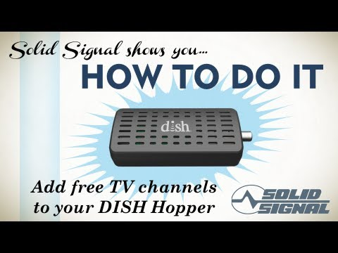 Solid Signal shows you hook an antenna to your Hopper DVR - YouTube