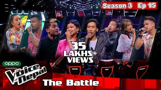 The Voice of Nepal Season 3 - 2021 - Episode 15 (The Battles)