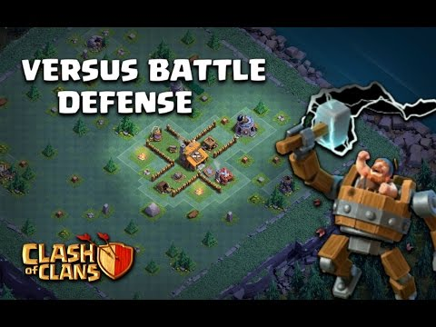 Thumbnail: Clash of Clans 'BEST' Town hall 2 (Th2) Builder's Base New Versus Battle Update CoC Defense Layout