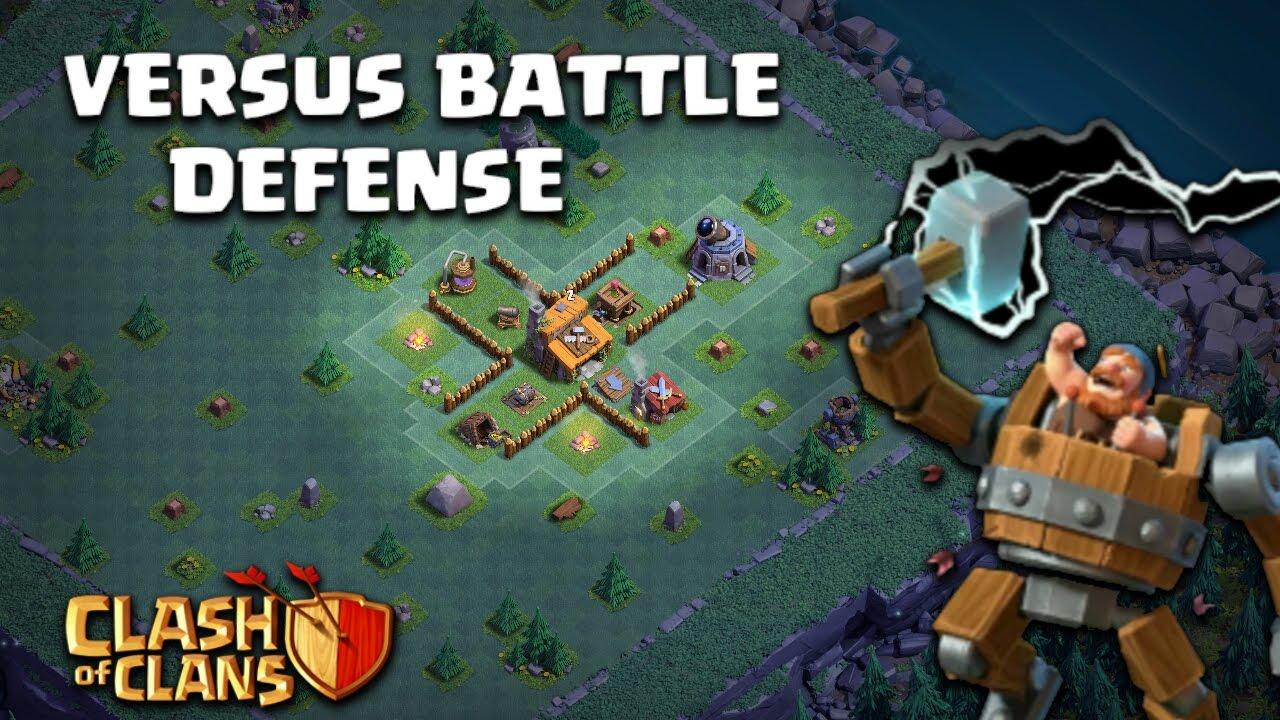 Coc Versus Battle Base Th 8 11