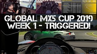 THIS GOT ME SO TRIGGERED! - iRacing MX5 Cup 2019 - Season 3 - Week 1