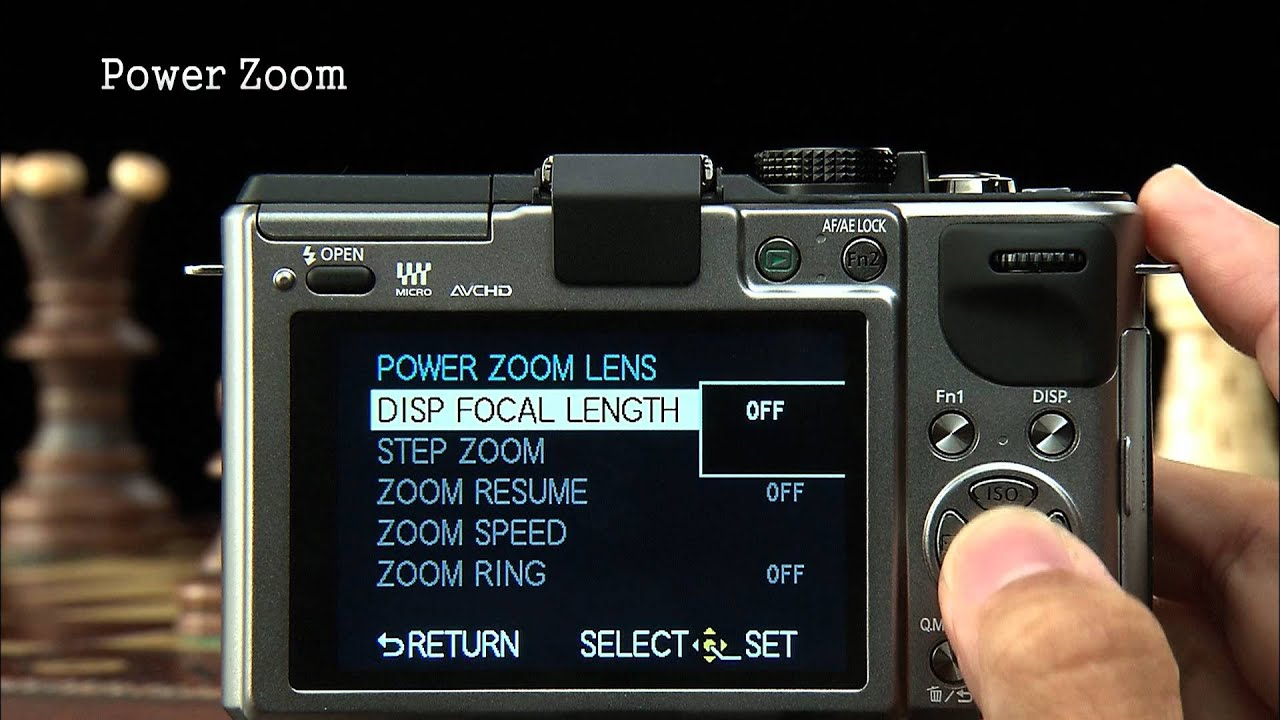 lumix gx1 manual power zoom youtube rh youtube com Lumix GM1 Lumix LX7