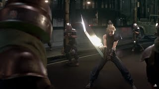 Final Fantasy 7 Remake Gameplay Trailer