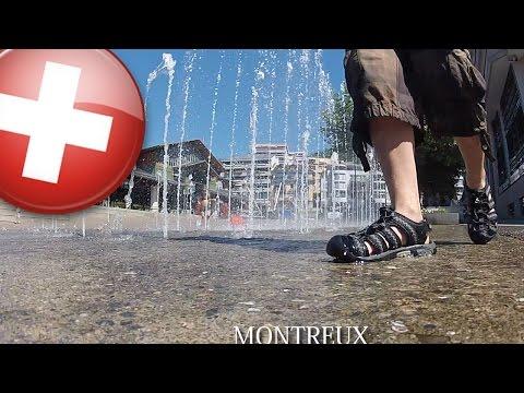 Suisse - MONTREUX - Fontaine 😁