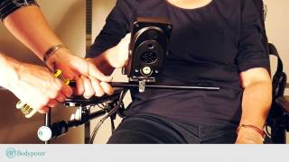 Installing and Using the Tri-Lock™ Midline Joystick Mount on Permobil Corpus chairs
