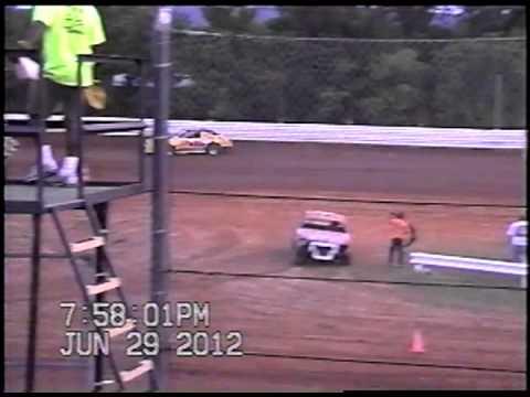Doe Run Raceway Mini Stock Heat-June 29,2012