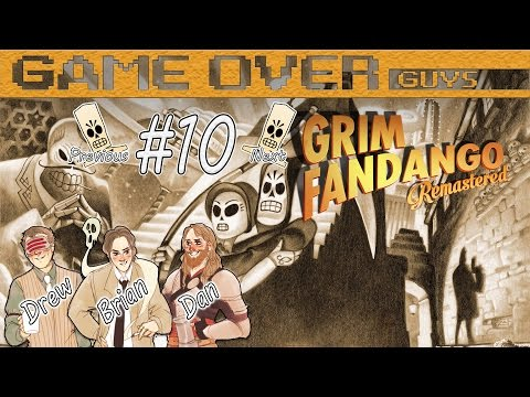 Grim Fandango: Part 10 - Right In The Poop Box - Game Over Guys
