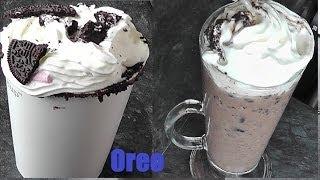 DIY: How To Make A Oreo Hot Chocolate & Oreo Iced Frap