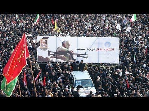35 человек погибли в давке на похоронах генерала Сулеймани