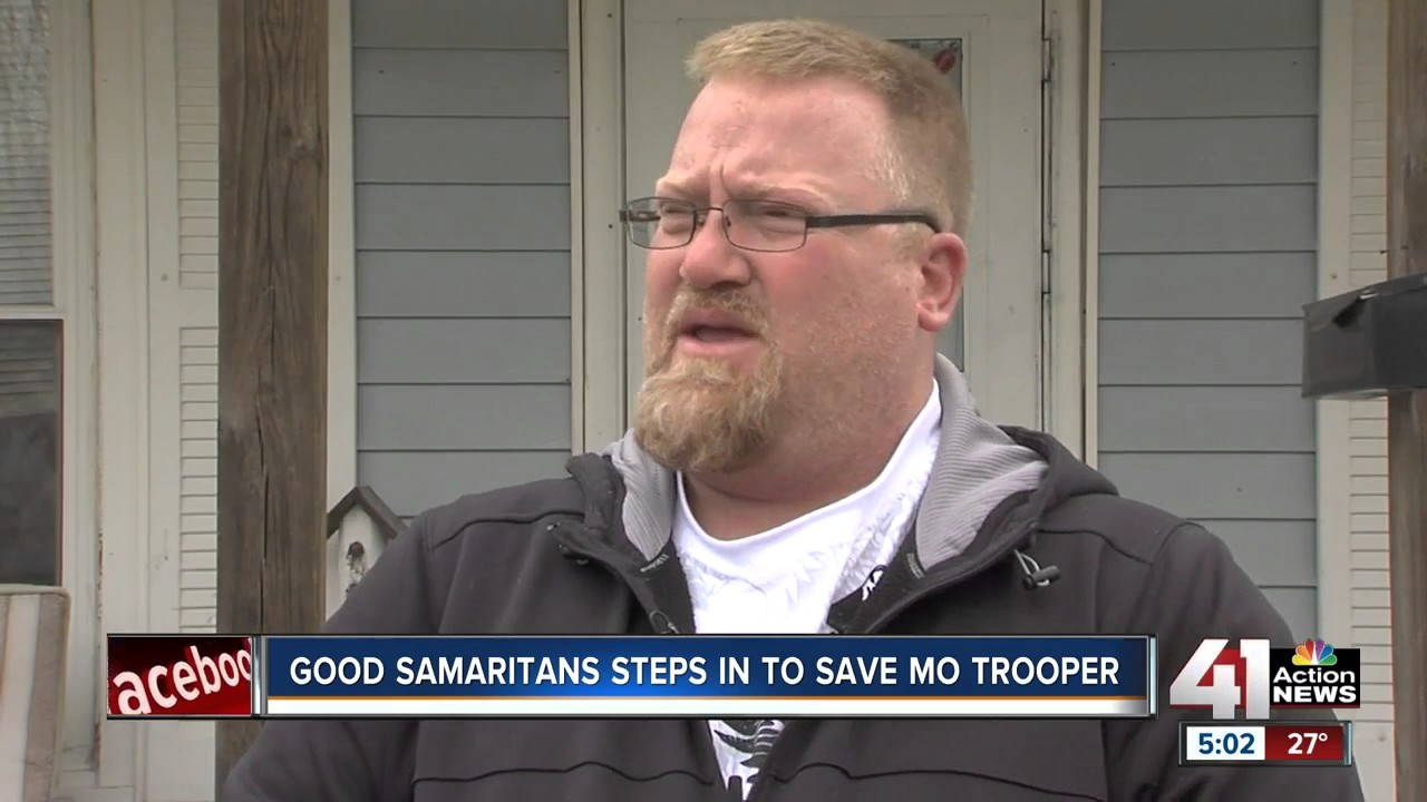 Good Samaritans steps in to save Mo trooper