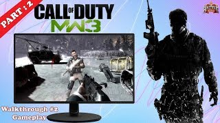 Cinematic Gameplay Call of Duty Modern Warfare 3 | Walkthrough Part 2 | Hindi