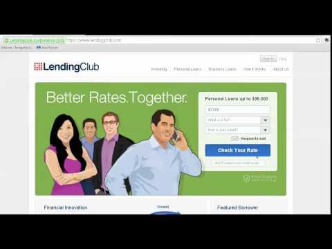Peer to Peer Lending for Debt Consolidation Cars Personal Loans ProsperVsLendingclub