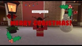 Santa's Coming For Us | Roblox Music Video (Short)
