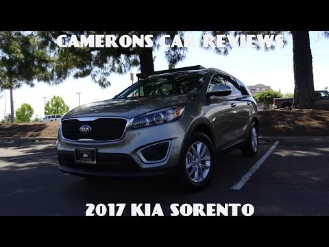 2017 Kia Sorento LX Road Test and Review 2.4 L 4-Cylinder | Camerons Car Reviews