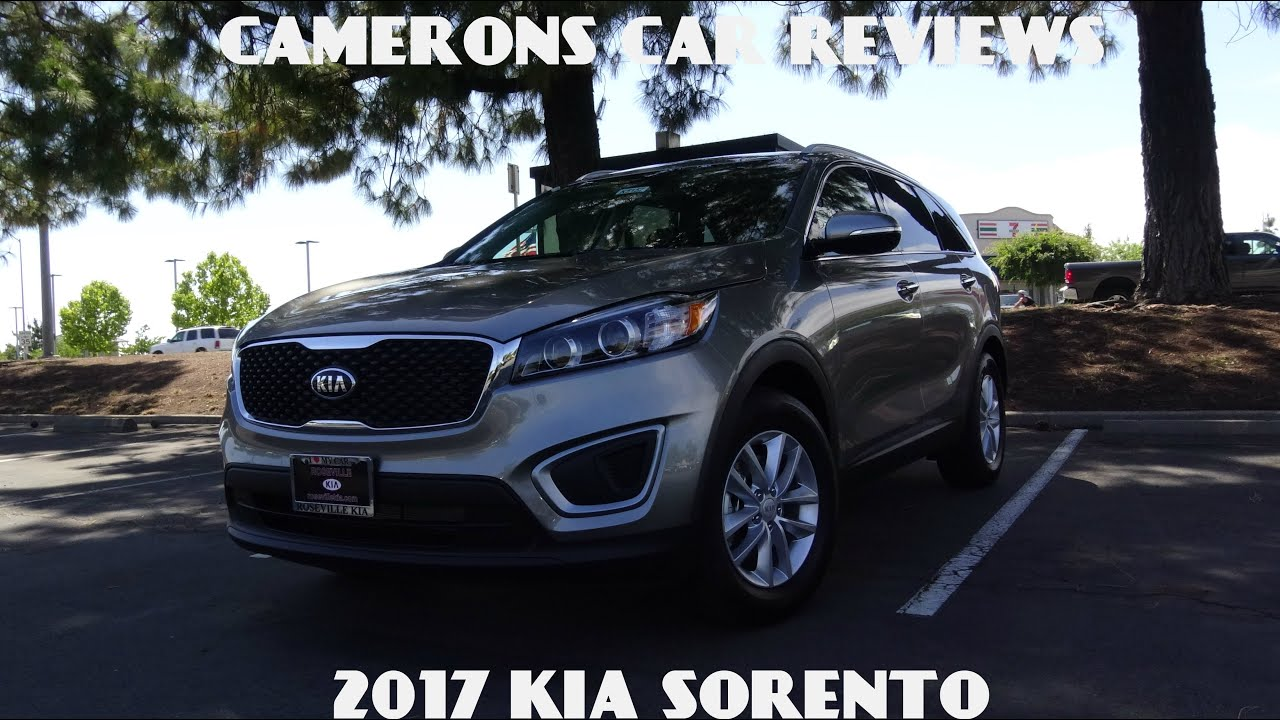 2017 kia sorento lx road test and review 2 4 l 4 cylinder camerons car reviews youtube. Black Bedroom Furniture Sets. Home Design Ideas
