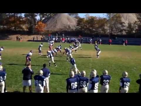 Nick Granata No. 8 Highlight  Film Freshman Year Notre Dame Catholic High School Fairfield CT