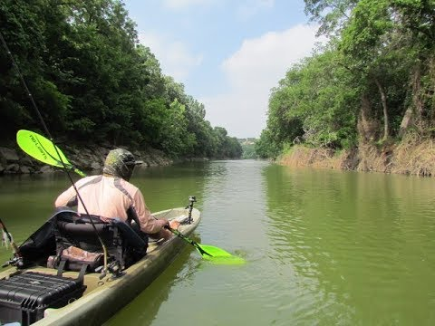 Bass Fishing in the Upper Brazos River (Whitney, TX)