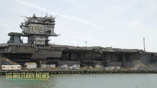 The US Navy Is Having a Hell of a Time Dismantling the USS Enterprise