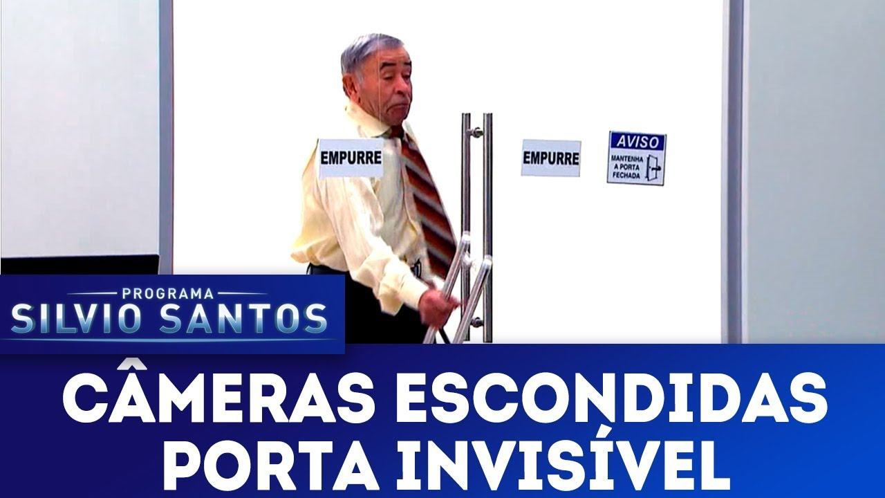 Porta Invisível - Invisible Door Prank | Câmeras Escondidas (20/01/19)