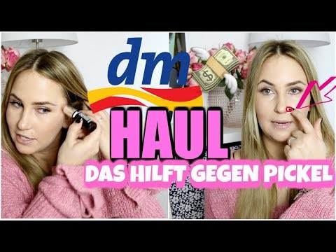 DM HAUL I BESTES PRODUKT GEGEN PICKEL I HIGHLIGHTER STICK IM TEST