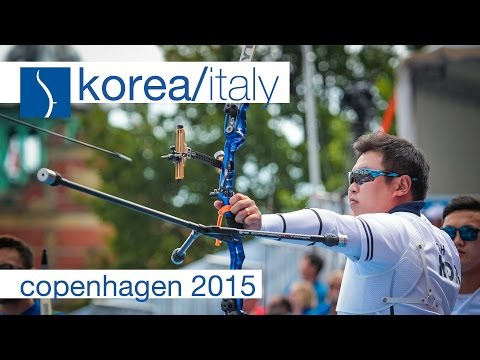 Korea v Italy – Recurve Men's Team Gold Final | Copenhagen 2015