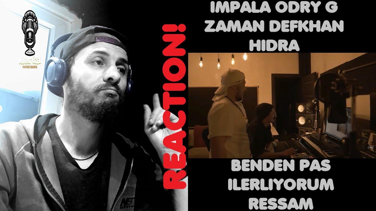 İmpala - Benden Pas | Odry G feat Defkhan & Zaman - İlerliyorum | Hidra - Ressam Yorum REACTION!