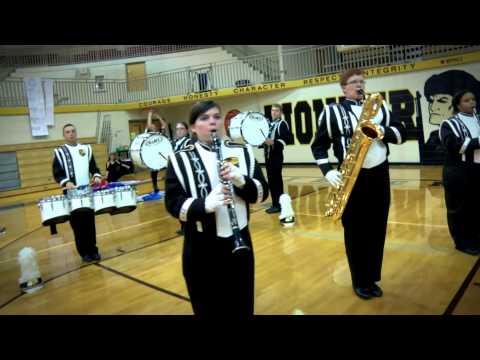 David Crockett High School Band
