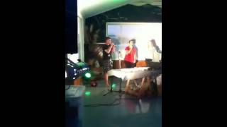 Horowhenua college , year 13 camp :) rata house !!