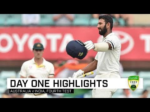 Pujara Century Puts India In Box Seat | Fourth Domain Test