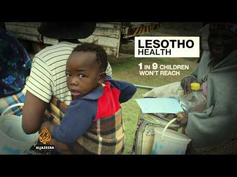 Lesotho maternal mortality rate among highest in the world