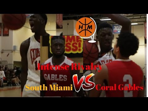 Intense Rivalry Game between South Miami Vs Coral Gables!!!! Toru Dean JR Shows Out!!!