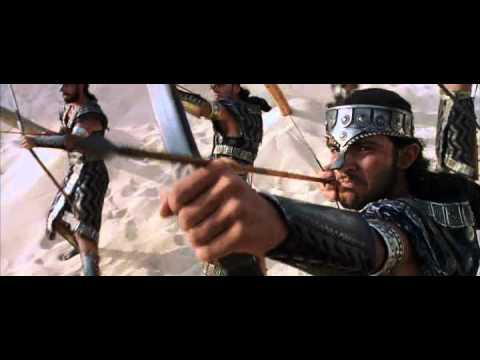 Troy-Achilles- beach battle scene