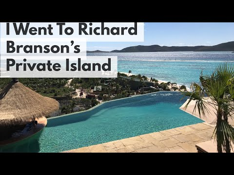 I Went To Richard Branson's Private Island! | Enchanted Tiki Travels