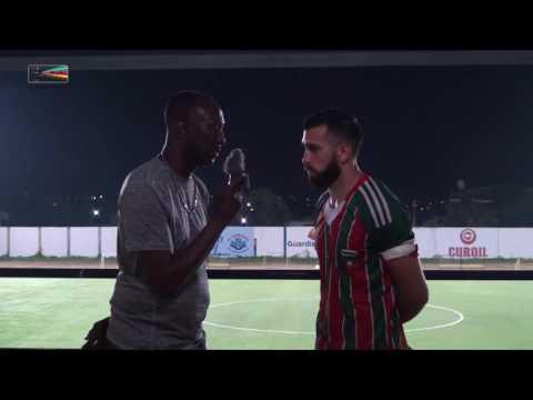 "Interview ""Rocha Gomes"" Team Scherpenheuvel Match Scherpenheuvel vs C  Barber 19 10 2016"