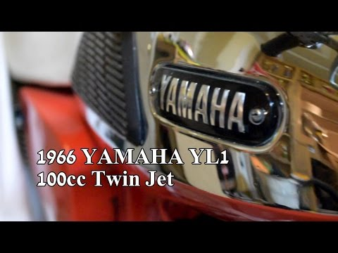 1966 YAMAHA 100 Twin Jet - Riding The Classics