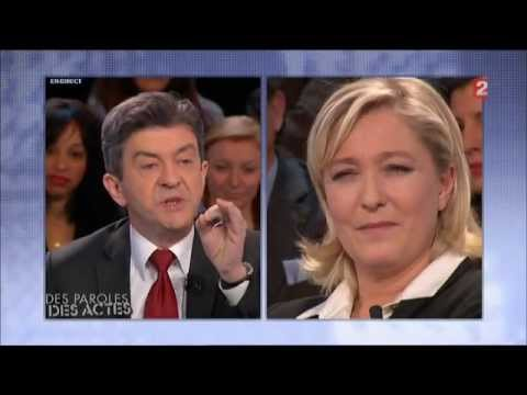 Fight : Mélenchon vs Marine Le Pen - Partie I