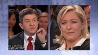 Fight : Mélenchon vs Marine Le Pen - Partie I